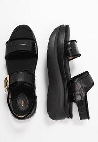 Mulberry - Sandály na platformě - black - 1