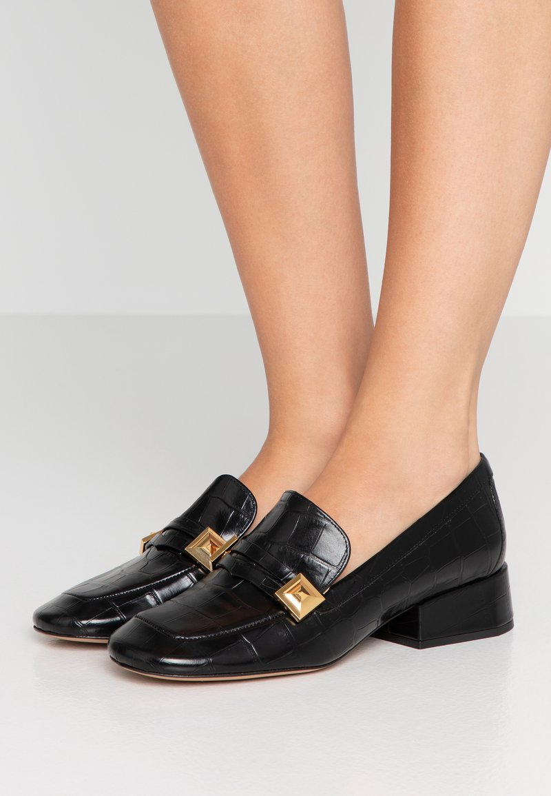 Mulberry - Slippers - stampa/cocco nero