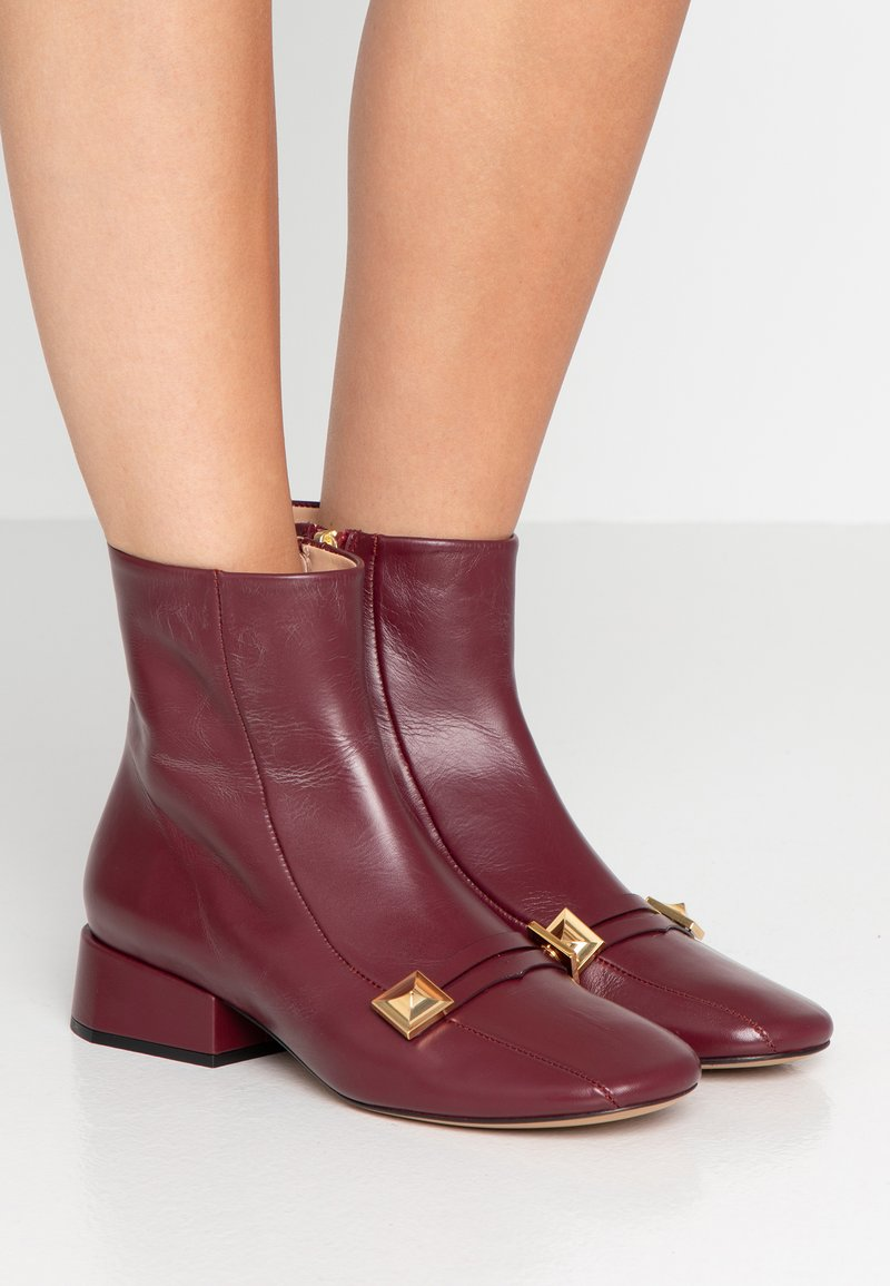 Mulberry - Classic ankle boots - firenze merlot