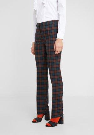 ASHLEY - Pantalones - dark red