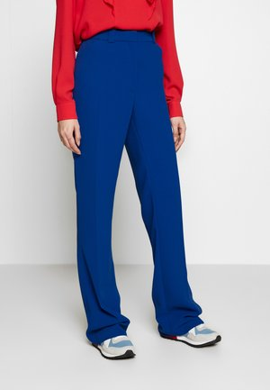 TESSA TROUSERS - Trousers - medium blue