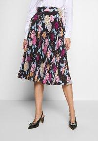 Mulberry - DALILAH PLEATED SKIRT - Áčková sukně - black - 0