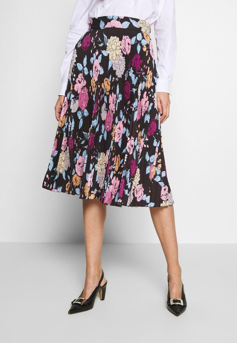 Mulberry - DALILAH PLEATED SKIRT - Áčková sukně - black