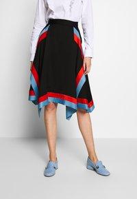 Mulberry - SKIRT - Áčková sukně - black - 0