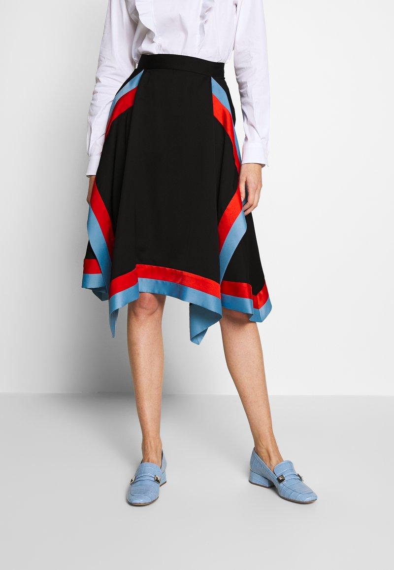 Mulberry - SKIRT - Áčková sukně - black