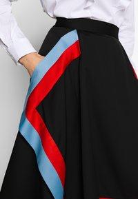 Mulberry - SKIRT - Áčková sukně - black - 5