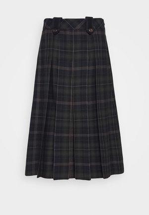 GIA SKIRT - Áčková sukně - dark blue