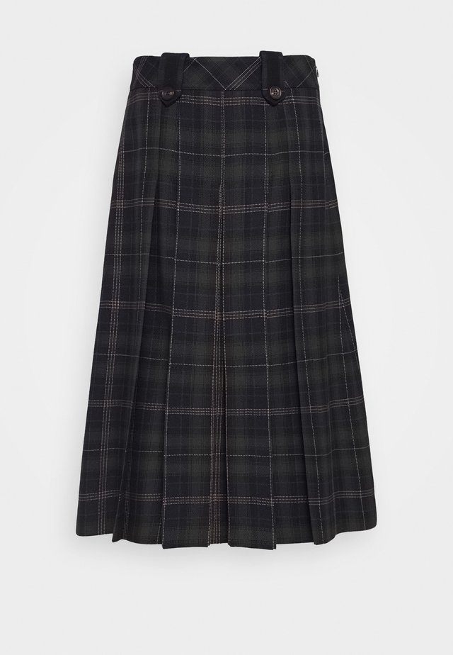 GIA SKIRT - A-line skirt - dark blue