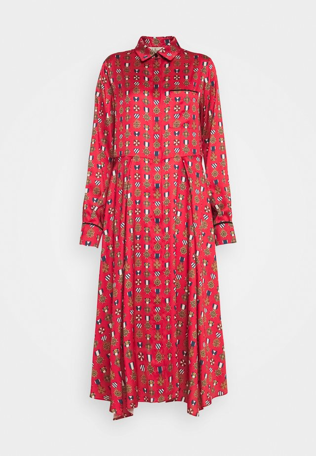 TERI DRESS - Sukienka koszulowa - medium red