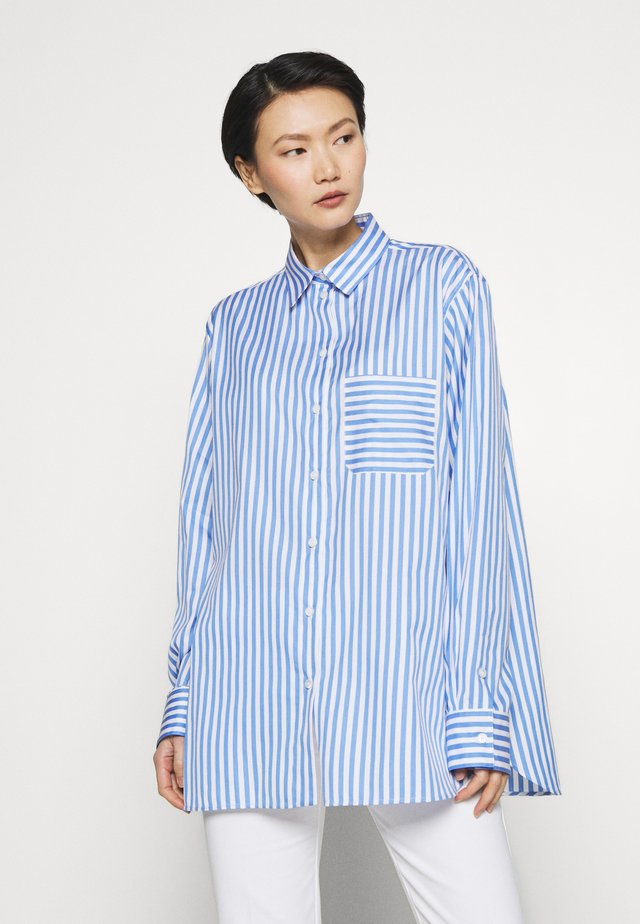 ADELINE BLOUSE - Button-down blouse - blue