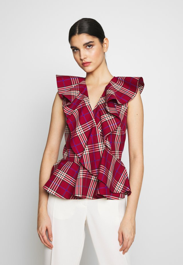 MYRA BLOUSE - Blouse - red