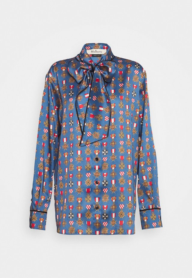 OTTILIE BLOUSE - Button-down blouse - navy