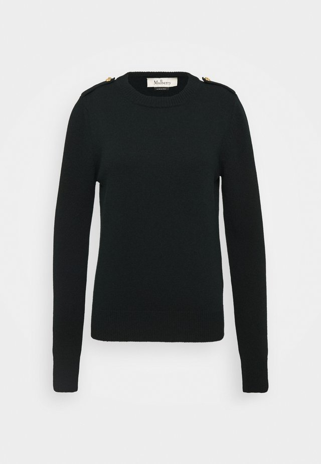 NANCIE CREW NECK JUMPER - Sweter - dark green