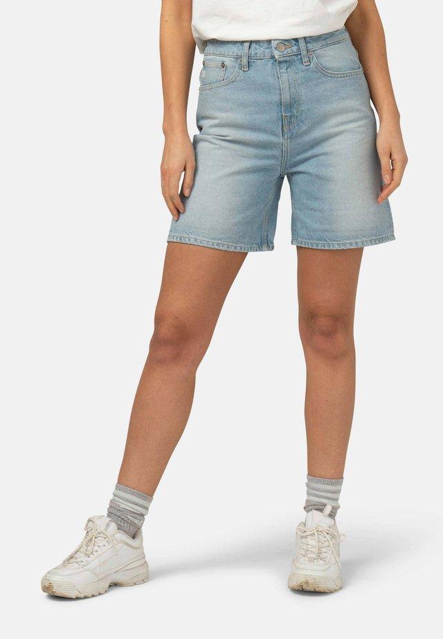 BEVERLY - Jeansshort - light blue denim
