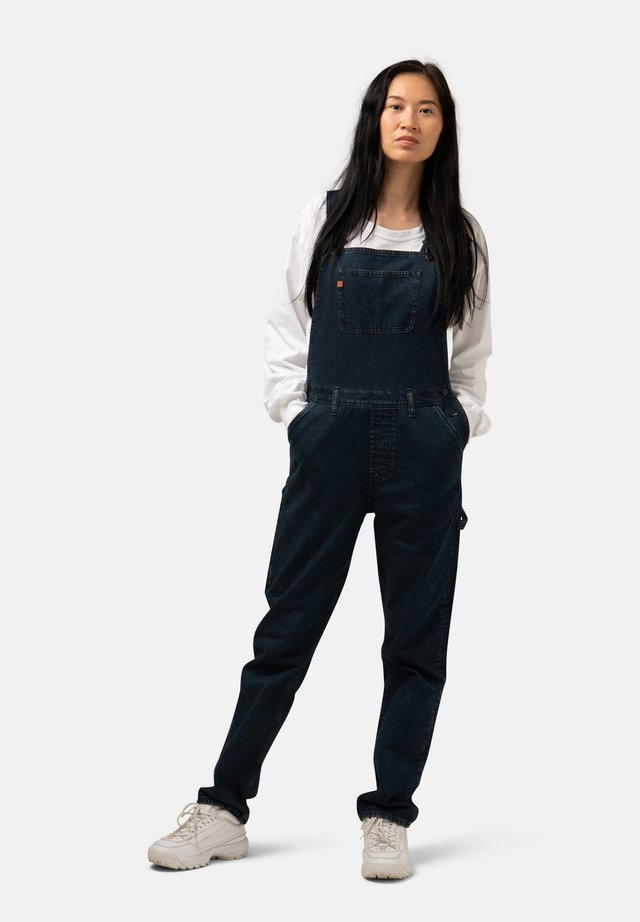 Dungarees - whale blue