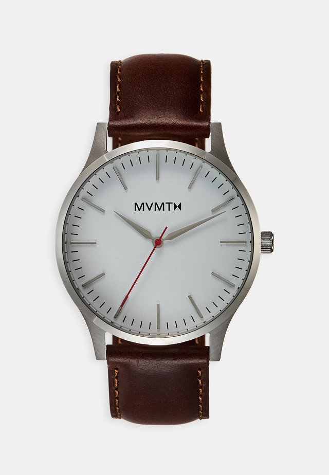 40 SERIES - Watch - silver-coloured/natural tan