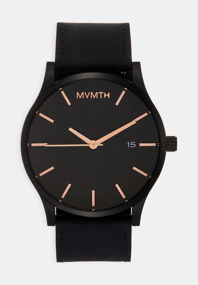 MVMT - CLASSIC - Watch - black/rose