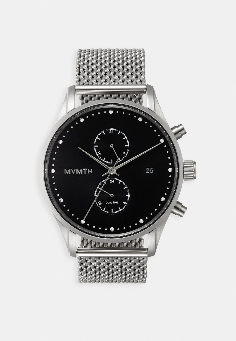 MVMT - VOYAGER - Chronograph watch - silver-coloured