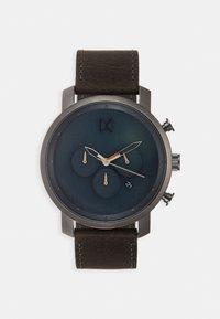 MVMT - Chronograph watch - matte blue/cedar - 0