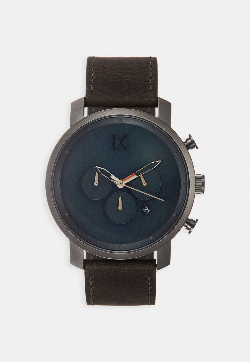 MVMT - Chronograph watch - matte blue/cedar