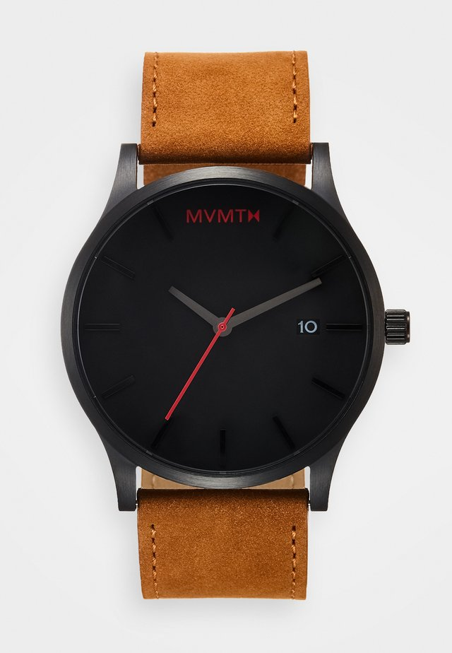 CLASSIC 45 - Watch - black/tan
