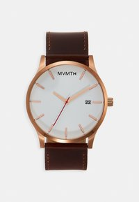MVMT - CLASSIC - Watch - rose gold-coloured/natural tan - 0