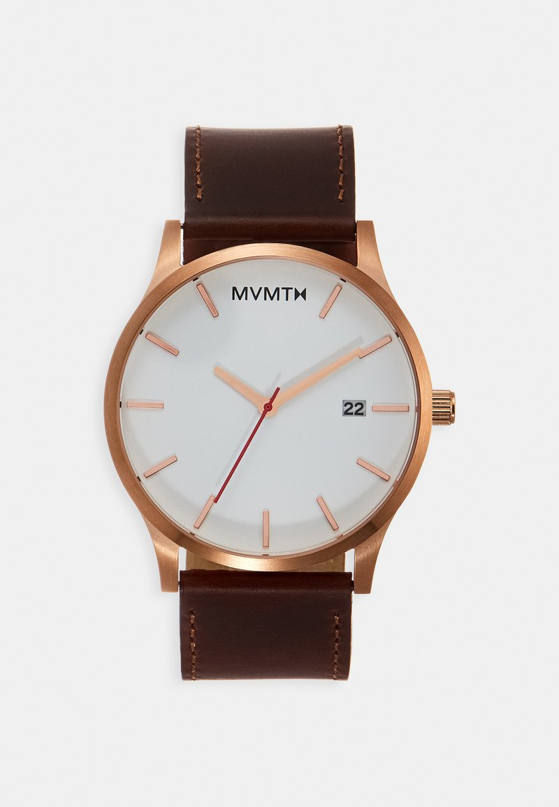MVMT - CLASSIC - Watch - rose gold-coloured/natural tan