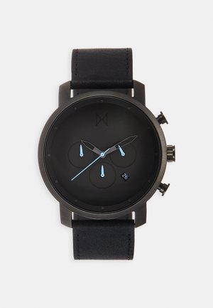 Chronograph watch - gunmetal/black