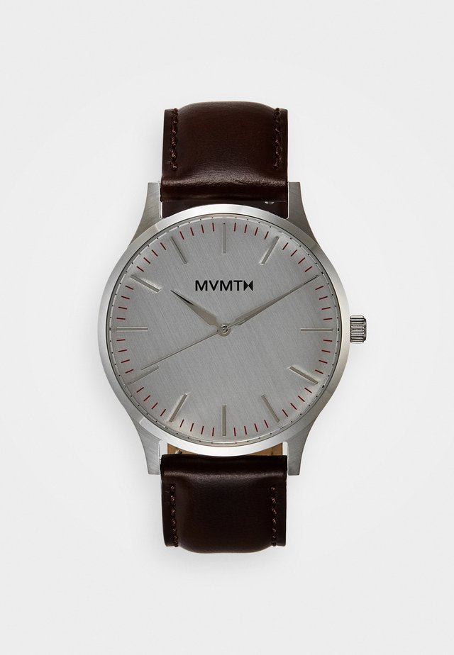 40 SERIES - Watch - silver-coloured/brown