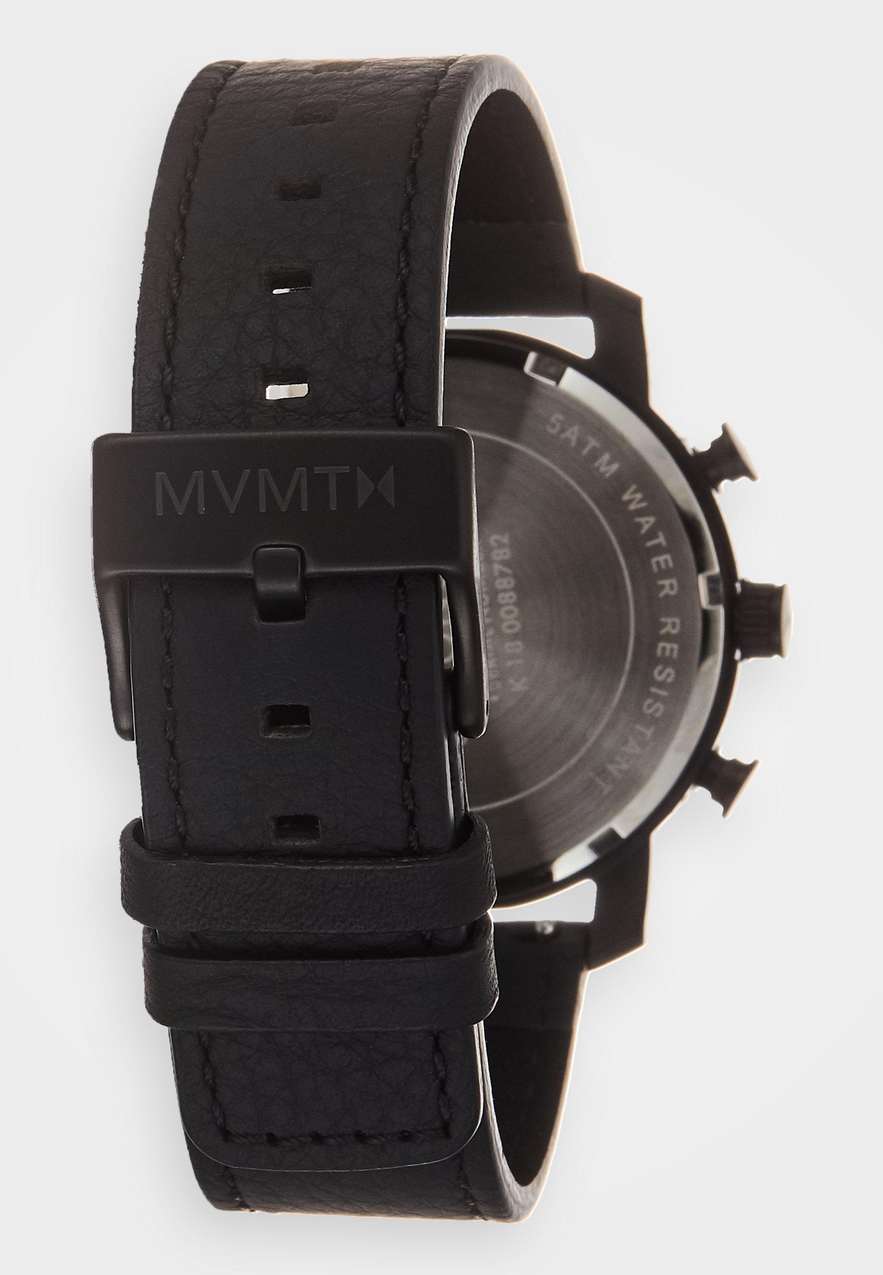 Mvmt Chronograph Watch - Black