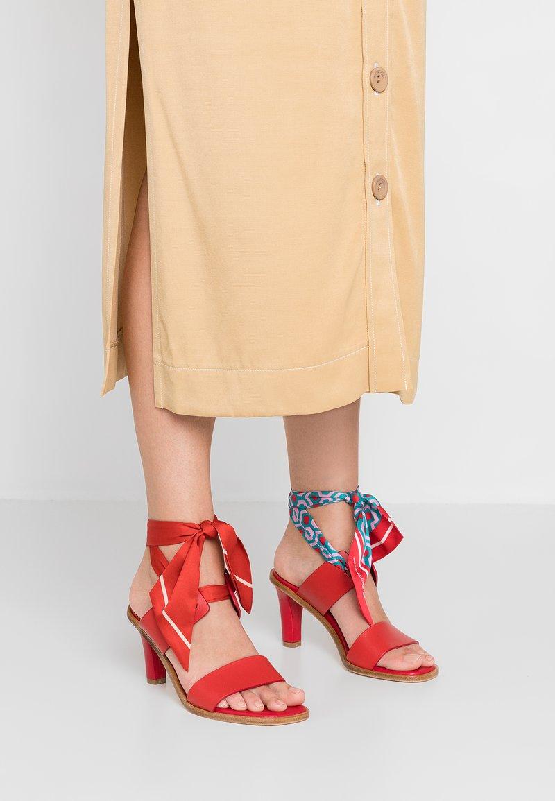 WEEKEND MaxMara - FRESIS - High heeled sandals - rot