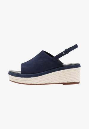 LEGUME - Sandály na platformě - ultramarine