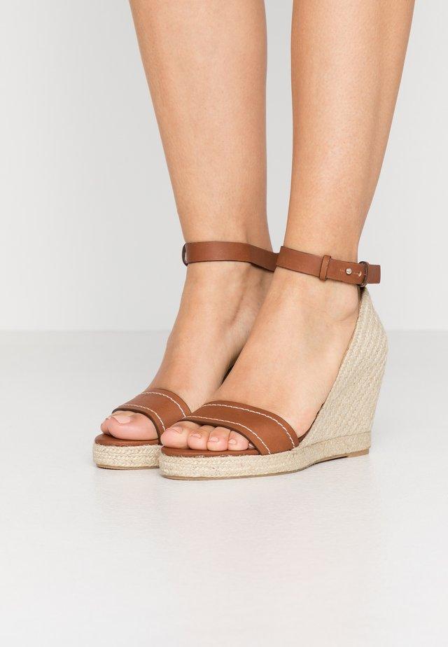 RAGGIO - Sandaler med høye hæler - taback