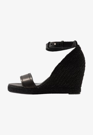 RAGGIO - Sandales à talons hauts - schwarz