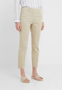 WEEKEND MaxMara - OGLIO - Spodnie materiałowe - beige - 0