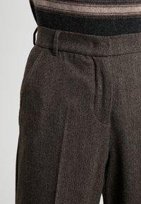 WEEKEND MaxMara - CALAIS - Pantalon classique - dunkelbraun - 4