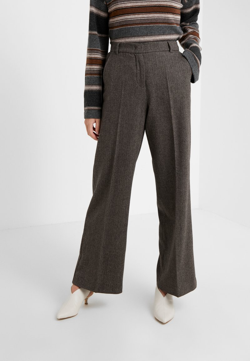 WEEKEND MaxMara - CALAIS - Trousers - dunkelbraun
