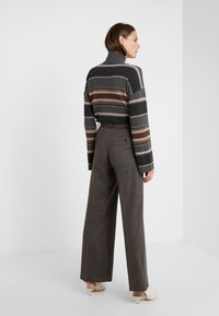 WEEKEND MaxMara - CALAIS - Pantalon classique - dunkelbraun - 2