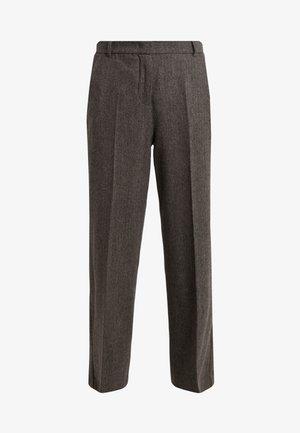 CALAIS - Trousers - dunkelbraun