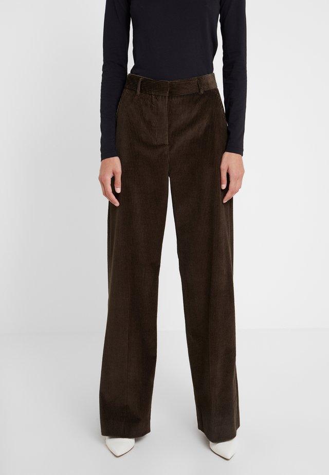 SAIO - Kalhoty - khaki