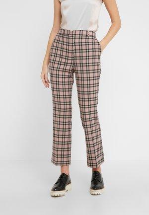 CAIRO - Pantaloni - braun/beige