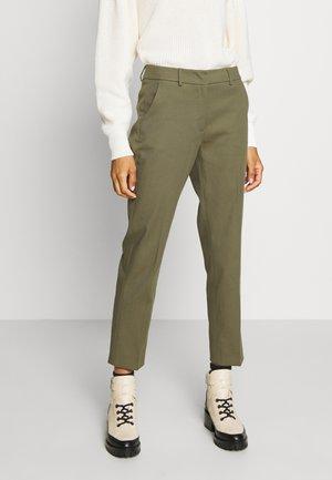 LEGENDA - Kalhoty - khaki