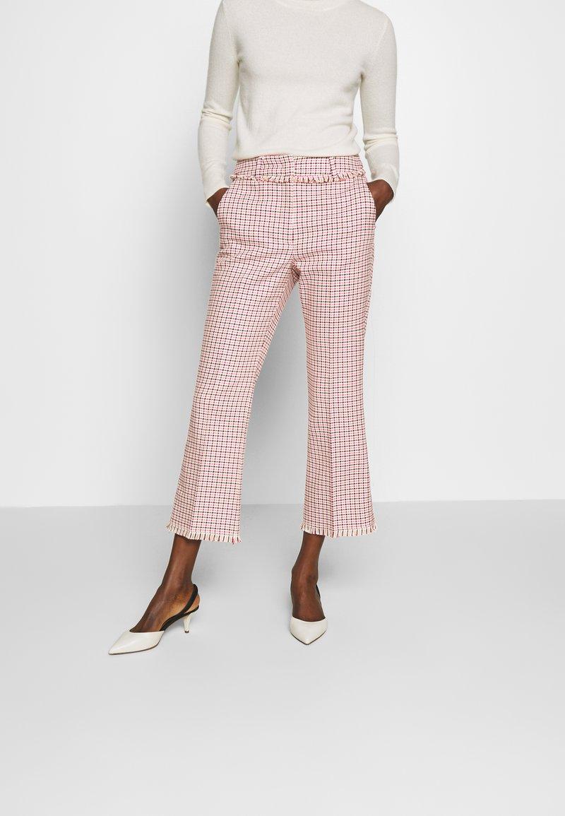 WEEKEND MaxMara - BAIARDO - Kalhoty - rosa
