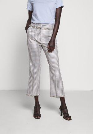 BAIARDO - Trousers - light blue
