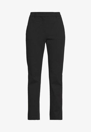 BRIANZA - Spodnie materiałowe - schwarz