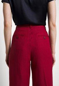 WEEKEND MaxMara - RAGUSA - Spodnie materiałowe - bordeaux - 7