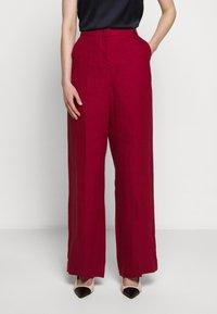 WEEKEND MaxMara - RAGUSA - Spodnie materiałowe - bordeaux - 0