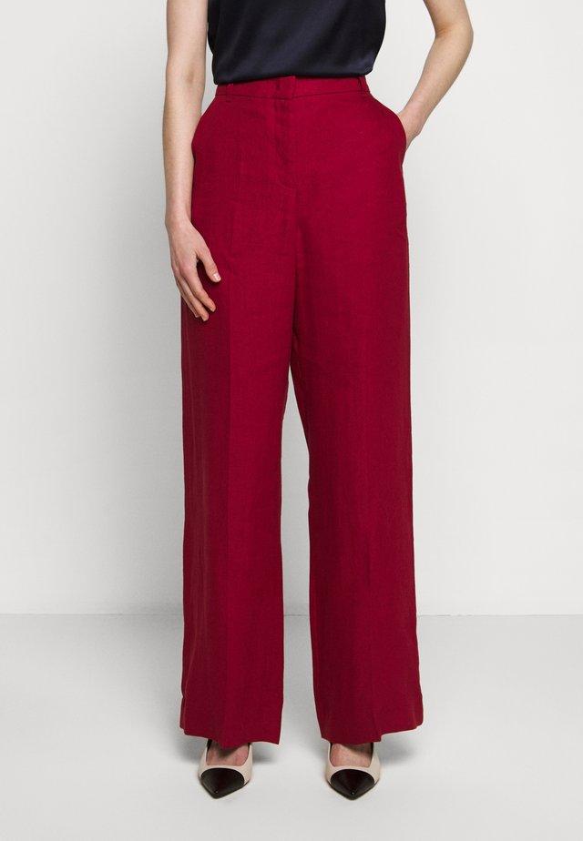 RAGUSA - Pantalon classique - bordeaux