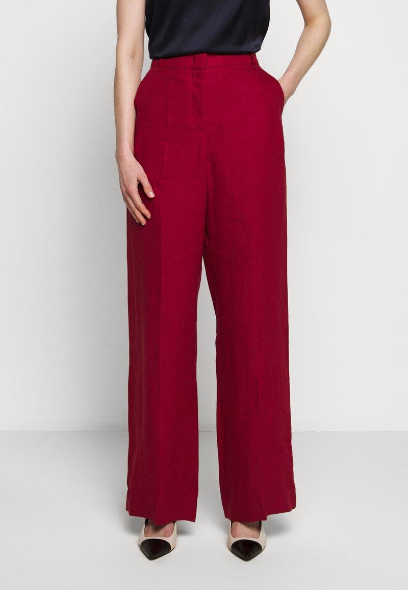 WEEKEND MaxMara - RAGUSA - Spodnie materiałowe - bordeaux