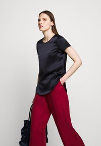 WEEKEND MaxMara - RAGUSA - Spodnie materiałowe - bordeaux - 4